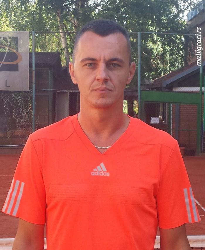 Teniski trener Branko Petković