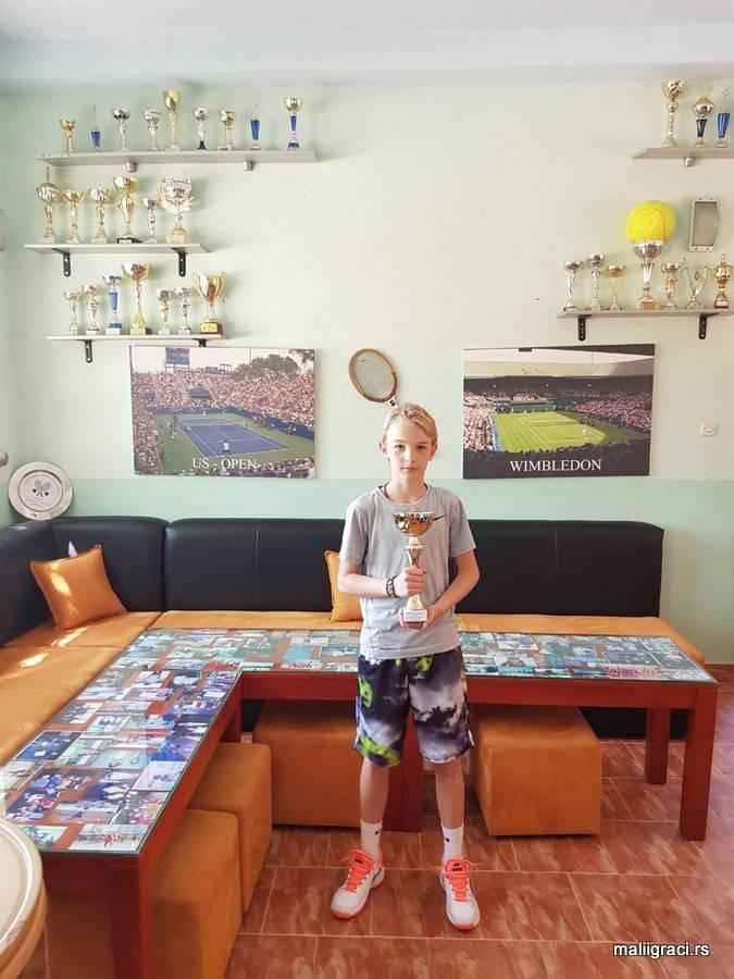 Matej Đokić, Otvoreno prvenstvo Mostara do 12 godina, Teniski klub Mostar Stari grad