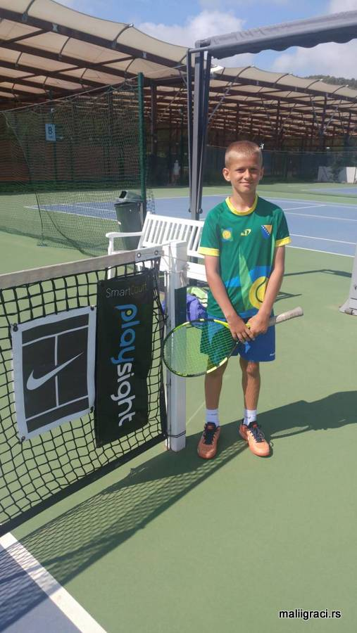 Ahmed Hurtić na Teniskoj akademiji Muratoglu, Mouratoglou Tennis Academy