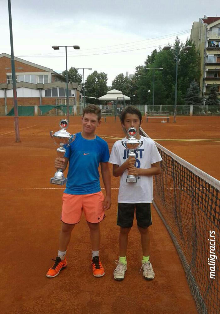 Ognjen Milić, Halel Ashoosh, Tennis Point Open 2018 U12 Čačak Srbija, Teniski klub Tennis Point Čačak, Tennis Europe Junior Tour