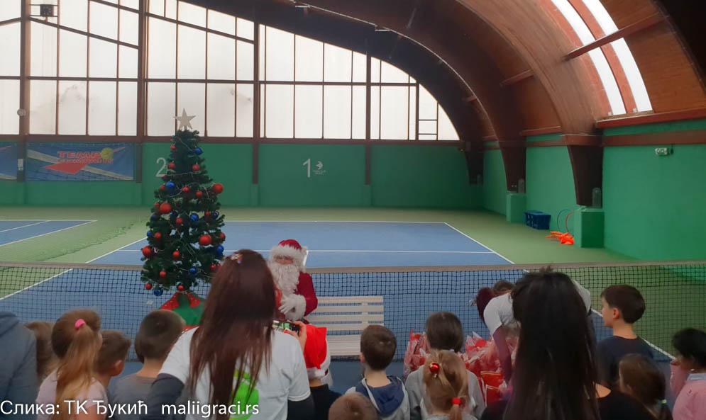 Novogodišnji turnir u TK Đukić, Teniski klub Đukić Beograd