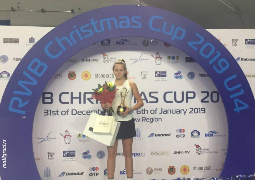 RWB Christmas Cup 2019, U14 Tennis Europe, 1. кат, Химки Русија, Академија Александaр Островски, 29.12.18-6.1.19.
