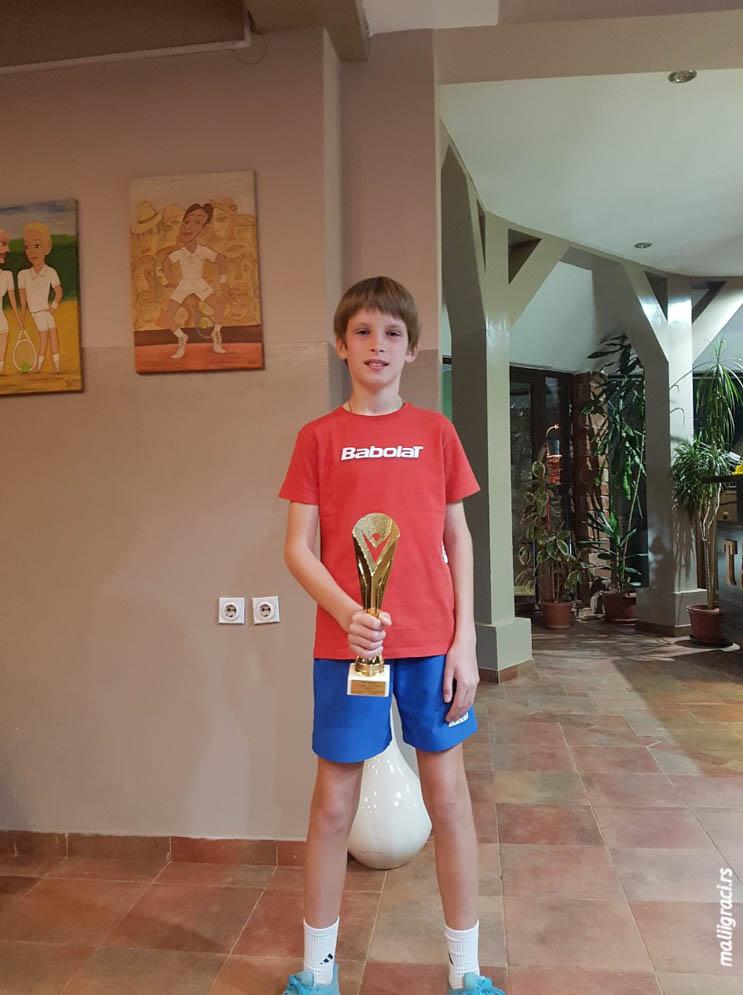Milan Radojičić, Otvoreno prvenstvo Niša do 12 godina, Teniski klub TAŽ Niš, Teniska akademija Živković Niš