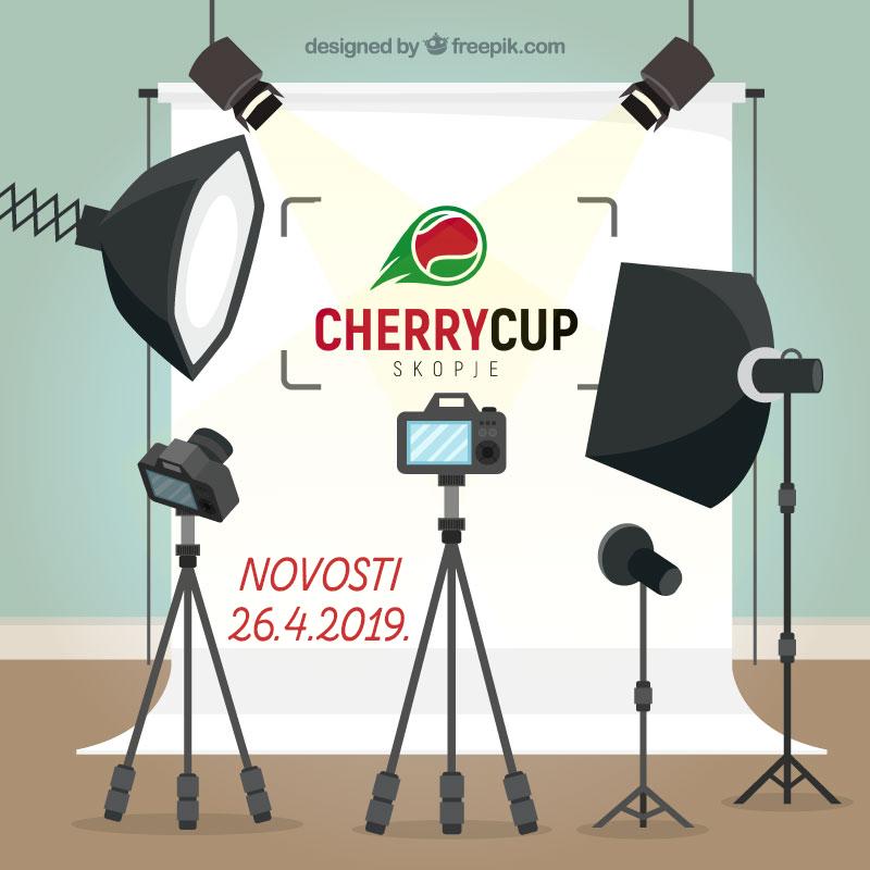 CHERRY CUP новости: 26.4.2019.