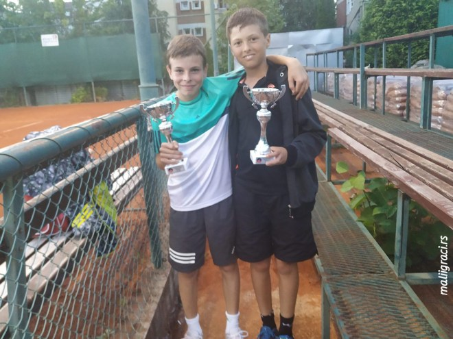 Aleksandar Žikić, Marko Nešić, TENNIS POINT OPEN 2019 U12, Teniski klub Tennis Point Čačak, Tennis Europe Junior tour