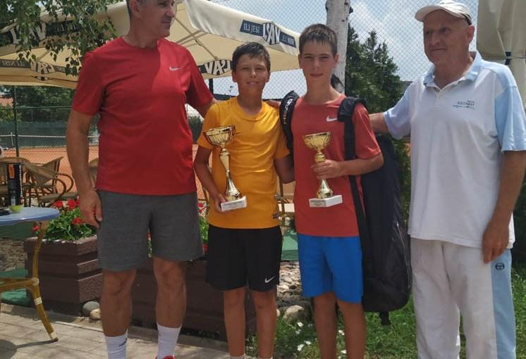 Nikola Matović, Aleksandar Žikić, Ljubiša Tasić, Vidovdanski turnir 2019, Teniski klub Kruševac