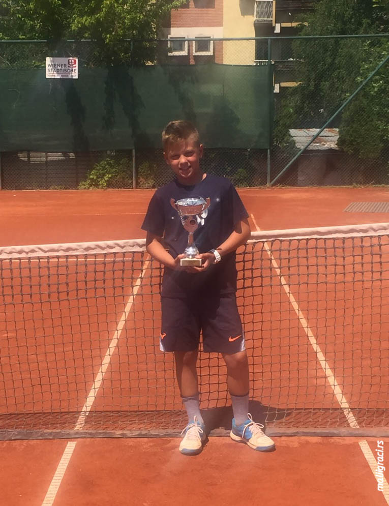 Pavle Čopić, TENNIS POINT OPEN 2019 U12, Teniski klub Tennis Point Čačak, Tennis Europe Junior tour