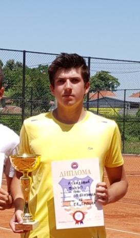 Teniser Filip Nenadović, Premium tenis Beograd