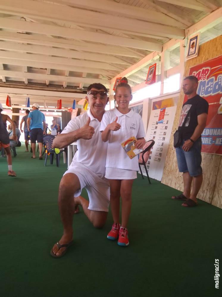 Dragica Stevanović, Tomo Đokić, 23. međunarodni teniski turnir Kup nada 2019 Brčko, Teniski klub Sol Brčko