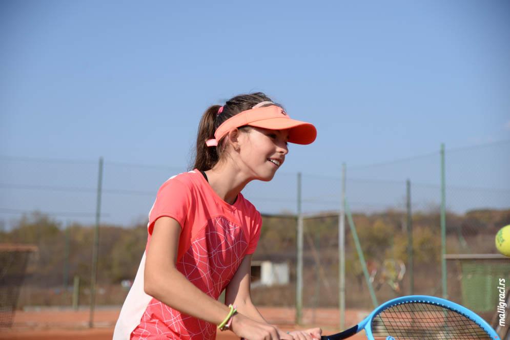 Mala teniserka Mia Milisavljević, Teniski klub Lapčević Sokobanja