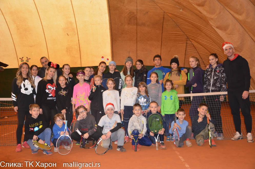 Novogodišnje druženje u TK Haron 2020, Teniski klub Haron Beograd