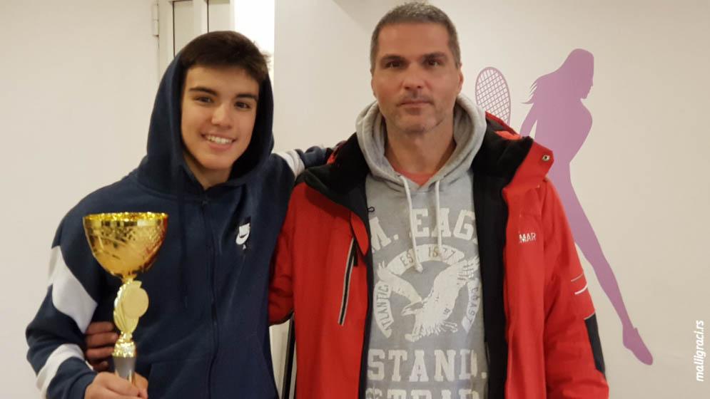 Todor Vukomanović, Marko Reljić, BOŽIĆNI TURNIR 2020 U14, Teniski klub Crvena zvezda Beograd, Tennis Europe Junior Tour