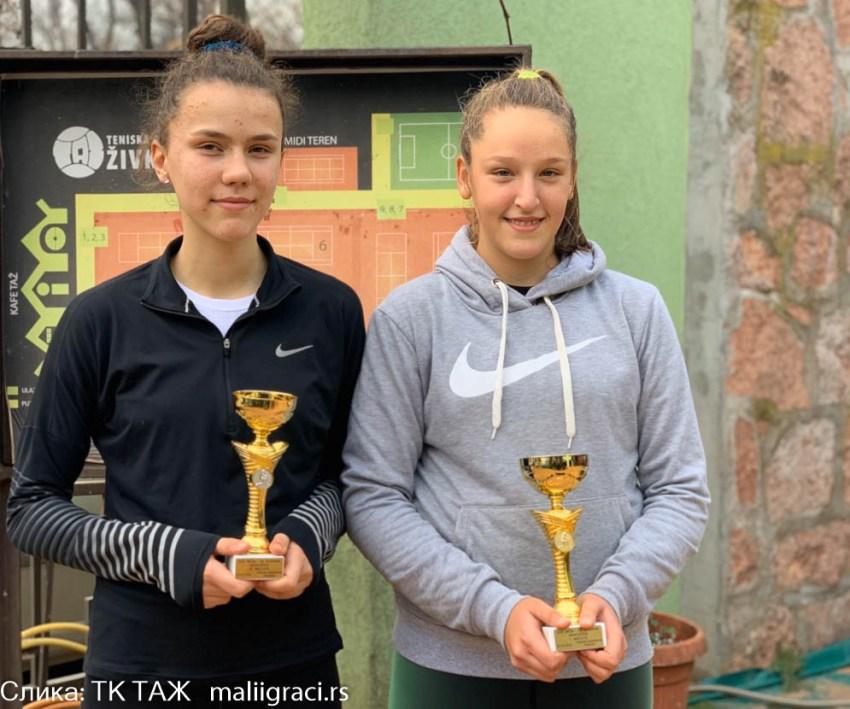 Ања Станковић освојила ОП Ниша до 16 година у TК ТАЖ (2. категорија)