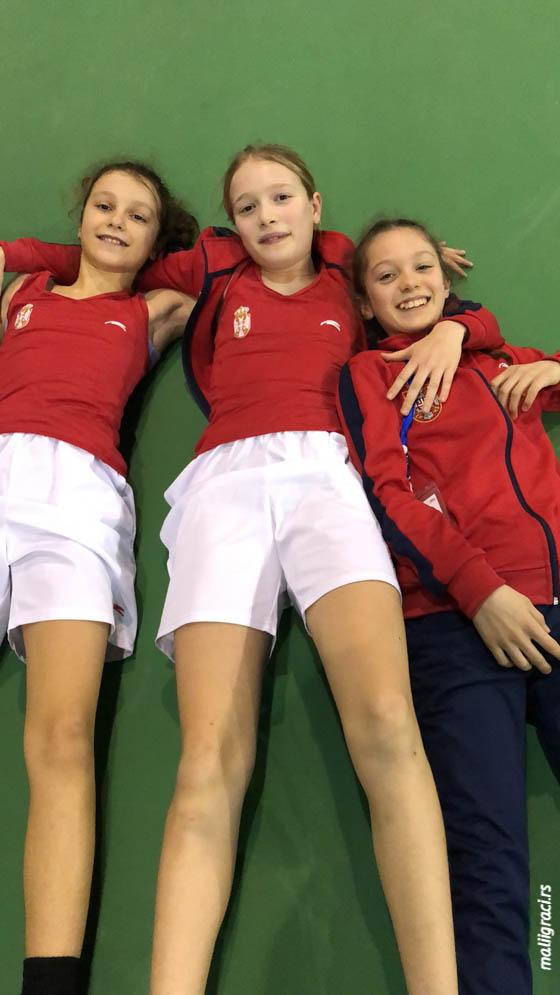 Aleksandra Đokić, Aleksandra Đokić, Helena Radman, Tennis Europe Winter Cups, reprezentacija Srbije do 12 godina