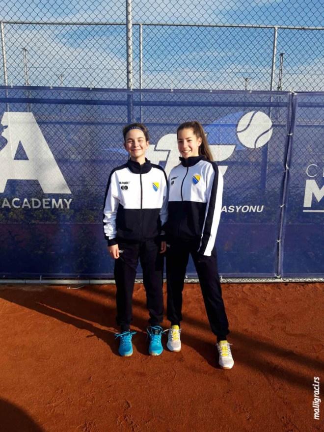 Anastasija Ignjatić, Asja Salkanović, Bosna i Hercegovina, ITF Tennis Europe U14 Development Championships, ITF Tennis Europe razvojni turnir U14