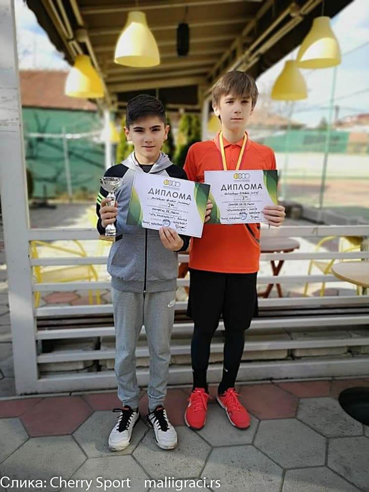 Stefan Novkovski, Cherry Sport, Cherry Sport News by Mali igrači, Cherry Cup Skopje 2020, Dečiji svet tenisa