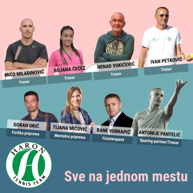 Teniski klub Haron Beograd, Haron poster, Haron Tennis Team