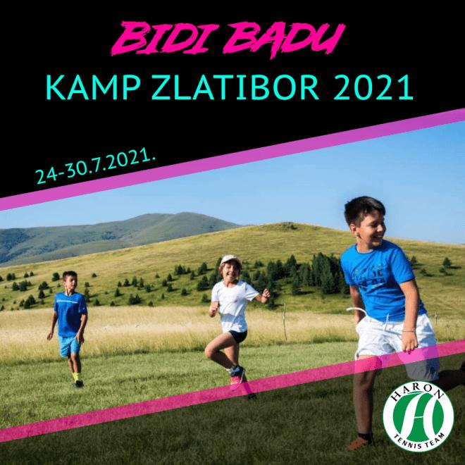 Bidi Badu kamp Zlatibor 2021, Teniski klub Haron Beograd, Haronov kamp na Zlatiboru