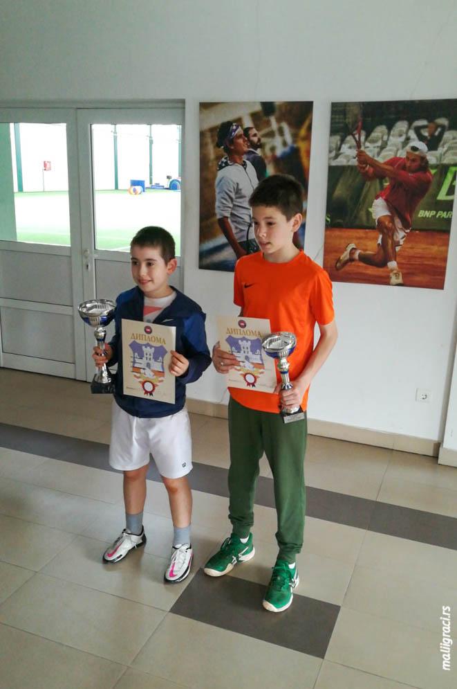 Igor Perić, Krsto Krivokapić, Otvoreno prvenstvo Beograda za dečake do 12 godina, Teniski klub Winner Beograd