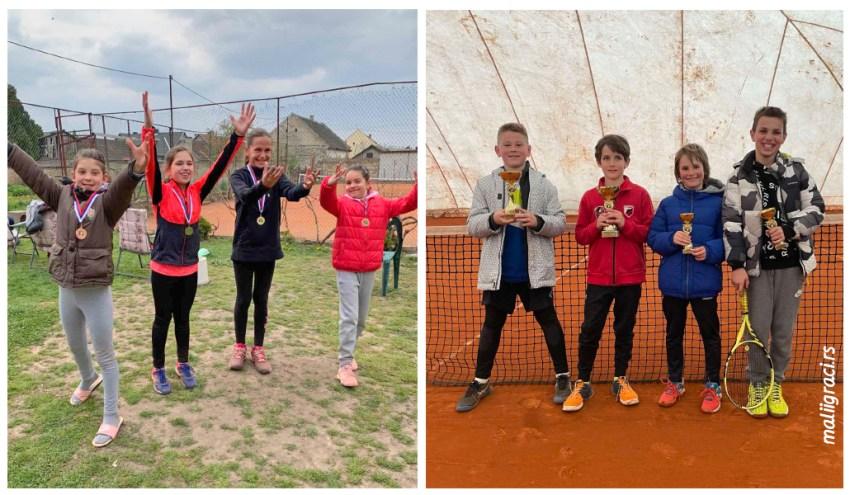 ОП Сивца, ТК Сивац, дечаци и девојчице 10 година, зелени ниво, 17-18.4.21.