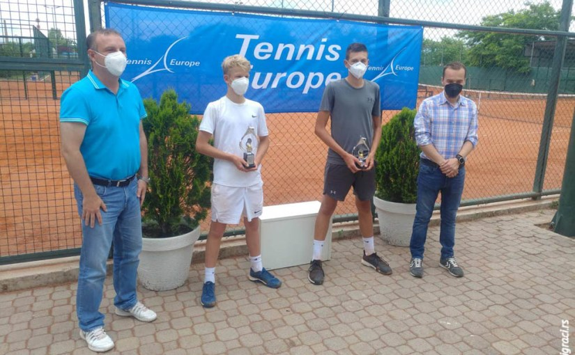 Nikola Jović, Carl Labitzke, Tennispark Open 2021 U16, Teniski klub Tennispark Skoplje Severna Makedonija, Tennis Europe Junior Tour