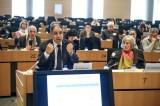 A gauche, Driss GUERRAOUI (Secrétaire général du Conseil Économique, Social et Environnemental – Maroc) et à droite, Marie-France Grangaud, (Consultante senior en Ingénierie sociale)