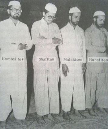 maliki hanafi shafii hanbali hands position prayer islam
