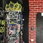 Funky Graffiti Wall