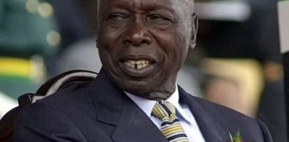 retired president moi