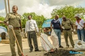 Malindi Town Clean up - Kisumu Ndogo-102