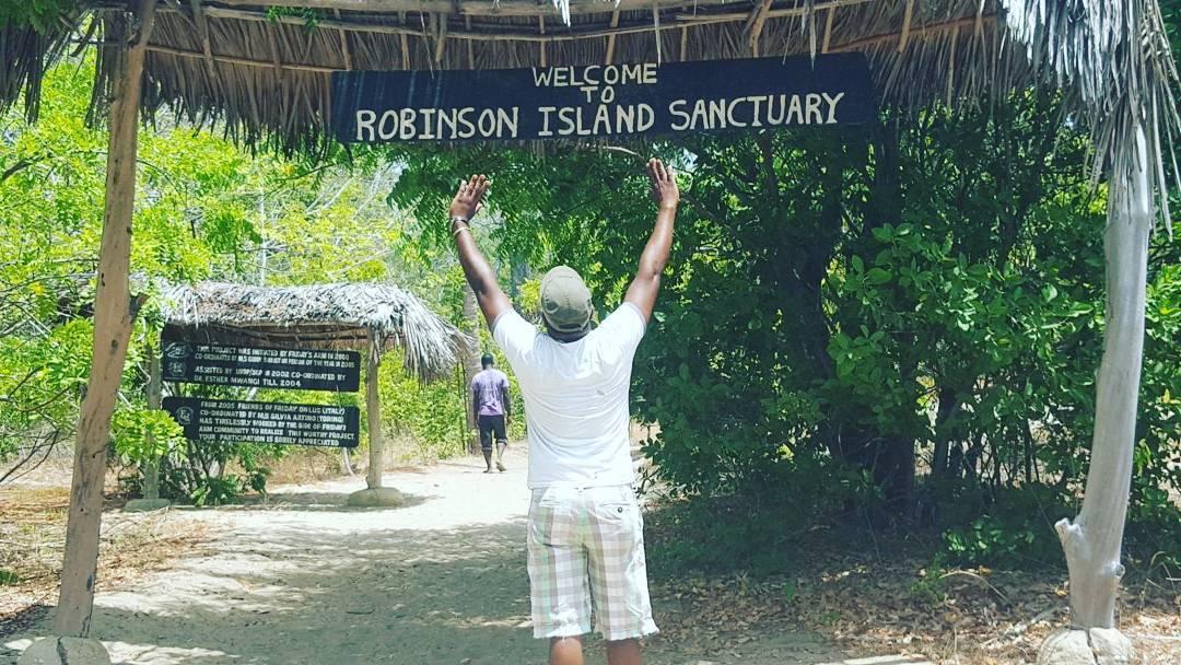 robinson island malindi malindians