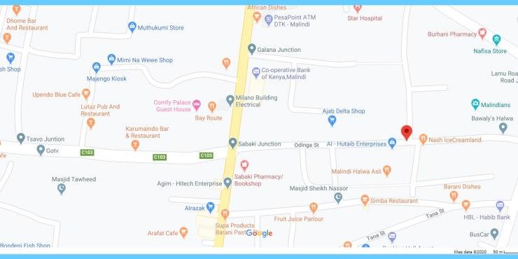oginga street Malindi - Oginga  Street Malindi