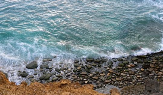 Ocean at Ribiera de Ilhas, Ericeira, Portugal, Katharina Maloun