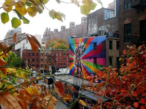 New York City Highline Park malindkate