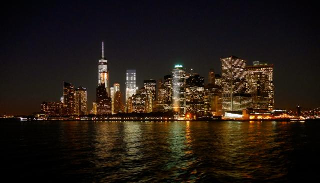 New York Skyline Night malindkate