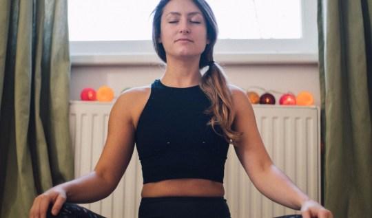 Yoga Travel Teacher Yogi Easy Pose