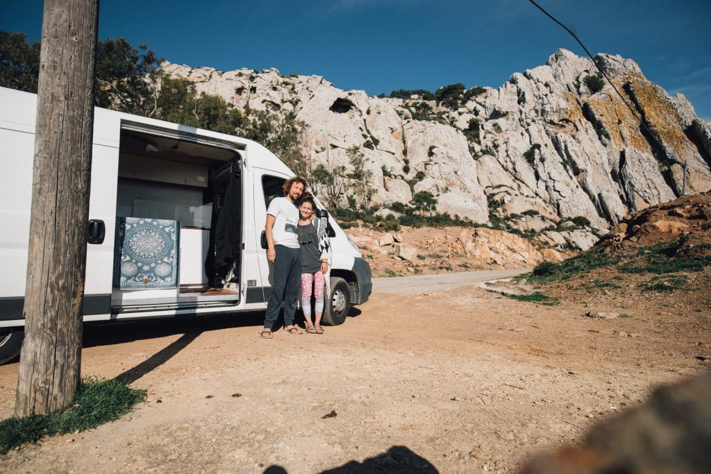 Vanlife Couple Travel Spain