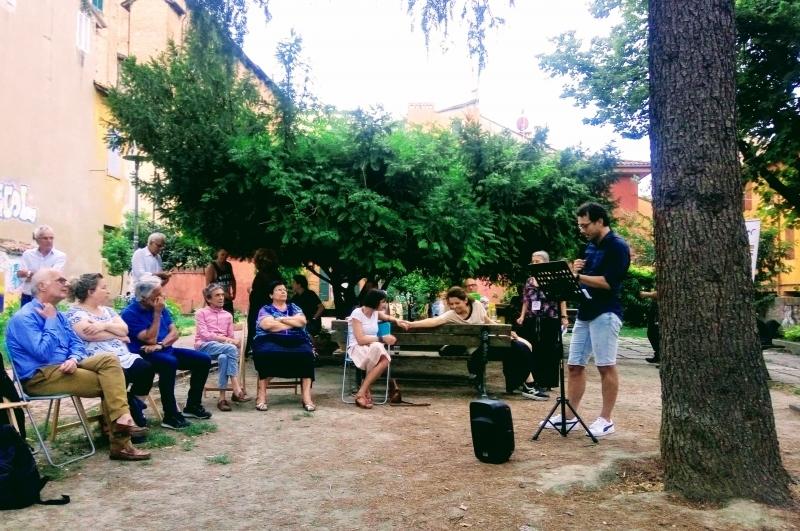 San Leonardo e l'ospitalità dei ChiusiFuori; il 14 luglio son tornate le #letturemobili