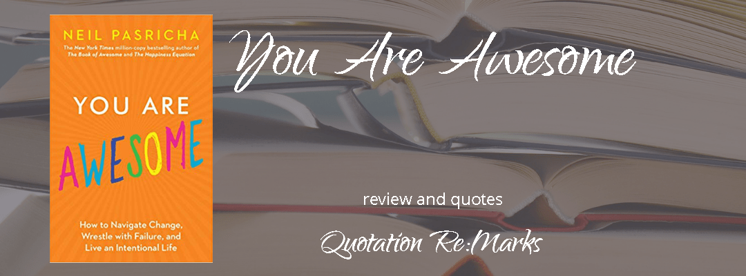 You Are Awesome by Neil Pasricha, a review