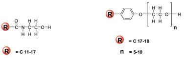 Yağ Asidi Alkanolamidler (FSA) - Alkil Fenol Etoksilatlar (APEO)