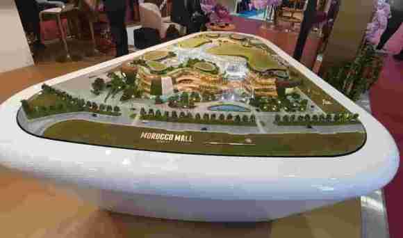 Maquette de Morocco Mall Rabat