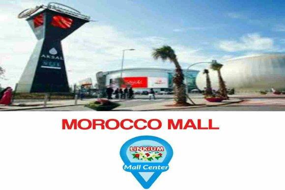 Façade exterieure de Morocco Mall