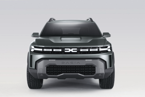 Photo du Bigster Dacia de face