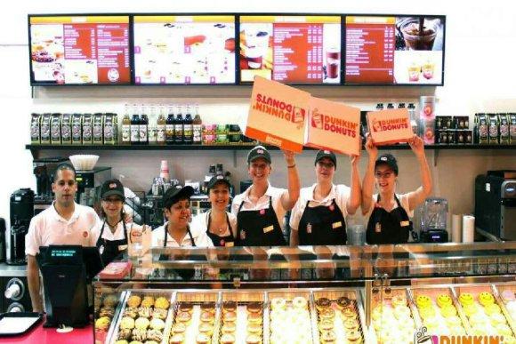 photo de l'équipe de Dunkin Donuts