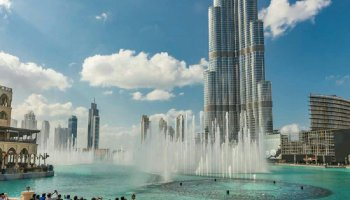 Image de la Tour Burj Khalifa de Dubai