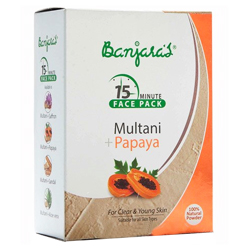 Image result for banjara's face pack multani and papaya