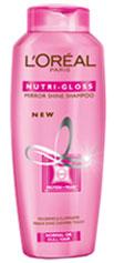 loreal nutri gloss mirror shine shampoo nourishes illuminates hair mirror shine hair