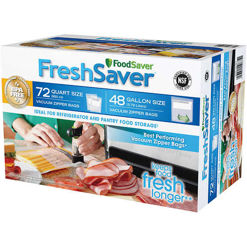 FoodSaver FreshSaver Zipper Bag Combo Pack