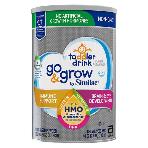 Similac Go & Grow Non-GMO* Toddler Drink 40 oz