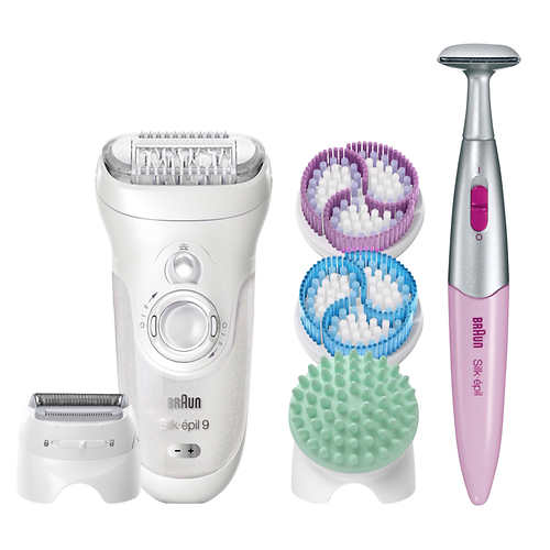 Braun Silk-epil 5-in-1 Epilator & Skin Care System with Bikini Trimmer